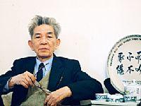 GS. Nguyễn Tài Cẩn, nhà khoa học đầu đàn của ngành Ngôn ngữ học.  (Ảnh: Bùi Tuấn)